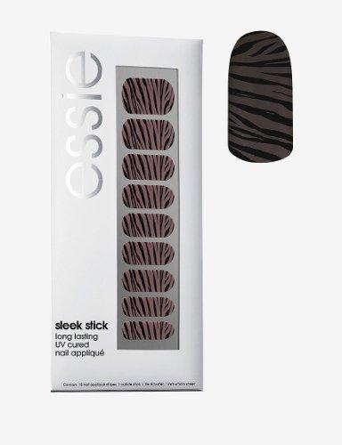Essie Sleek Stick A to Zebra Nail Appliques - one package (Essie Nail Polish Strips)