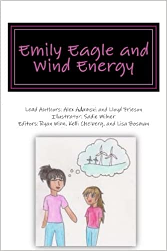 Emily Eagle and Wind Energy (Renewable Energy Specialist in Training)