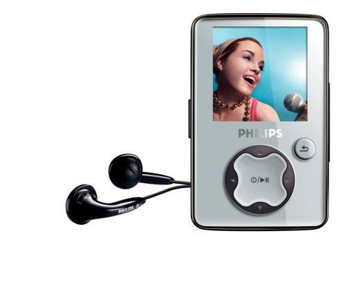 Philips GoGear 2 GB MP3/Video Player (Grey)