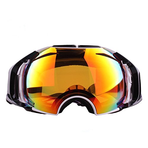 Ski Goggles NHSUNRAY Snowboard Motorcycle Goggles Wide Spherical Dual Detachable Lens with UV Protection Windproof Anti-fog Anti Glare Design Lenses for Kids Youth Men and Women - Sunray Sunglasses