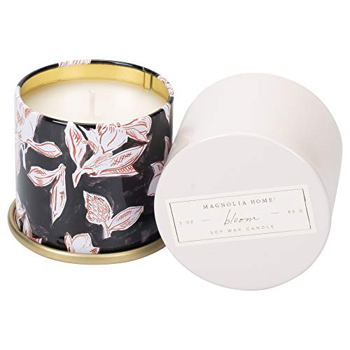 Bloom Scented 3.0 ounce Soy Wax Tin Candle by Joanna Gaines - Illume