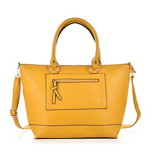 Cartable Bandoulière Yellow GWQGZ À Jaunâtre Nouveau Femme Riz Sacoche Mode Sac Sac Mode 7qwRXqz
