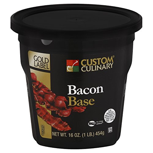 Custom Culinary Gold Label Base Bacon, 1 Pound