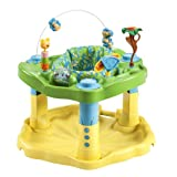Evenflo ExerSaucer Bounce and Learn Activity Centre Zoo Friends Review