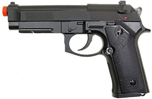Y P M9 BERETTA NON BLOWBACK GREEN GAS PROPANE AIRSOFT PISTOL Hand Gun w 6mm BB