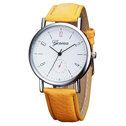 Ecosin® Womens Retro Simple Design Leat - Ladys Crystal Wrist Watch Shopping Results