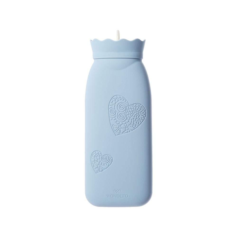 Amazon.com: Bolsa de agua caliente de silicona transparente ...