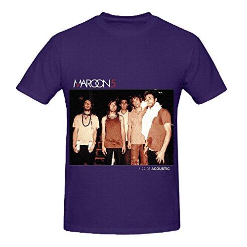 maroon-5-12203acoustic-tracks-mens-o-neck-cotton-shirt-purple