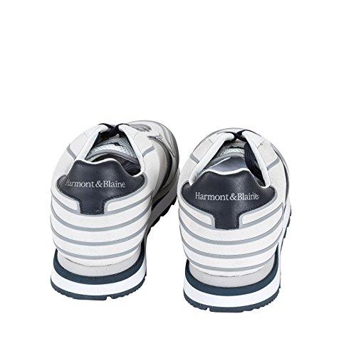 Scarpa P e18 Mod In Bicolore E Con Grip Camoscio Sneaker Lacci Stringata Eva amp; bianco Blaine Suola Tricolore Tessuto Gomma Tomaia Uomo E1005 Harmont Running Modello Battistrada SqzfB4W