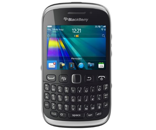 Blackberry Curve 9320 Curve Unlocked GSM Phone with OS 7.1, Wi-Fi 3.2MP Camera and GPS - Black (Rim Blackberry 3g)