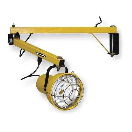 Dock Light, Fluorescent, 55W, 120V, 40In Arm