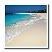 Danita Delimont - Beaches - Bahamas. Pristine Beach. - 6x6 Iron on Heat Transfer for White Material (ht_206048_2)