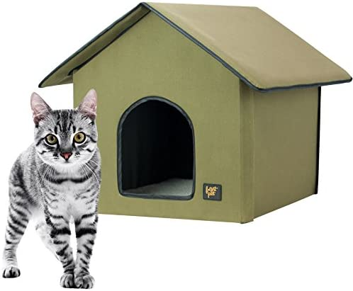 heated cat kennel