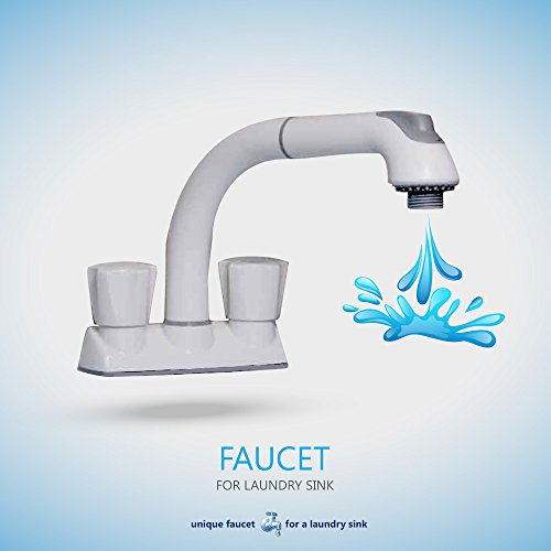 cleanflo 481 pull out laundry faucet 3 hole installation