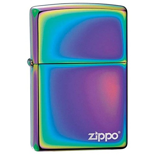 Personalized Message Engraved Customized Classic Spectrum Zippo Indoor Outdoor Windproof Lighter (Personalized Zippo Spectrum Lighter)