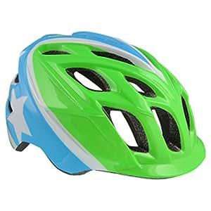 Kali Protectives Chakra Child Superhero Helmet, Green/Blue