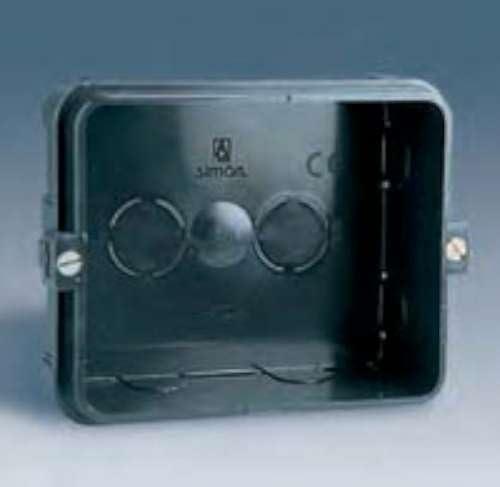 Simon 48720-35 - Caja Empotrar 2 Elementos: Amazon.es: Bricolaje y ...