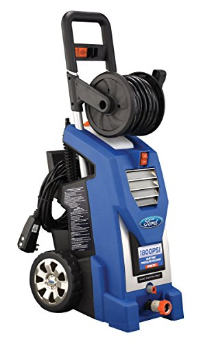 Ford FPWEF2.1-1800 1800PSI Electric Pressure Washer with Two Brushes