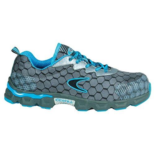"""Cofra JE012–000.w47taglia 47S1P SRC """"Lowball sicurezza scarpe, colore: grigio/blu"""