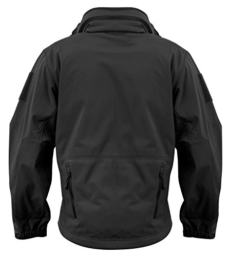 Rothco Special Ops Softshell Jacket, Black, (Motion Soft Shell Jacket)