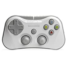 SteelSeries Stratus Wireless Gaming Controller for iPhone, iPad and iPod Touch, White