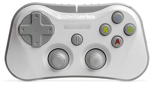 Controller Mini Game - SteelSeries Stratus Wireless Gaming Controller for iPhone, iPad, and iPod Touch - White