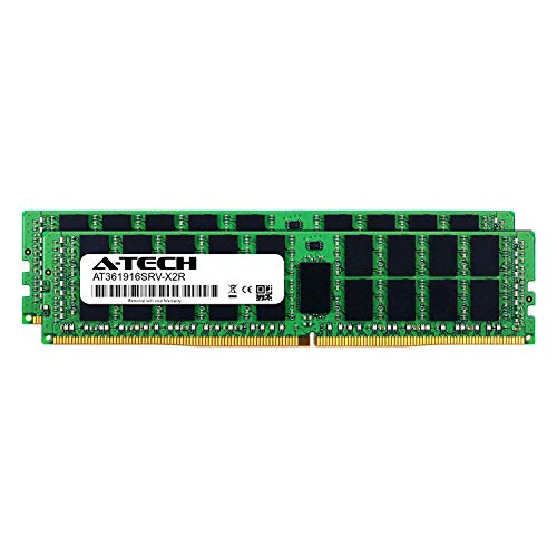 A-Tech 64GB Kit (2 x 32GB) for Tyan S7070WA2NR - DDR4 PC4-21300 2666Mhz ECC Registered RDIMM 2rx4 - Server Memory Ram (AT361916SRV-X2R6)