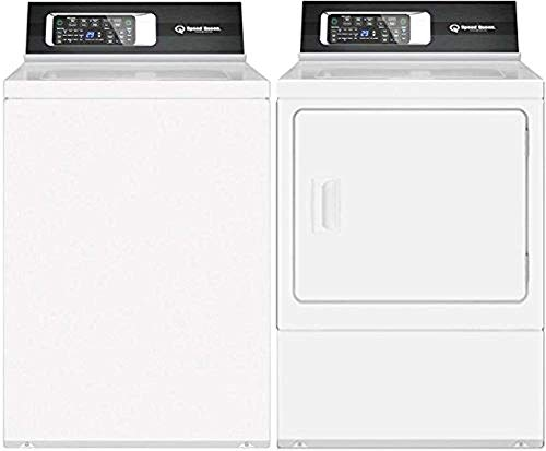 (Speed Queen White Laundry Pair with TR7000WN 26