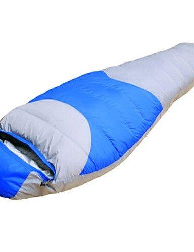Schlafsack Mumienschlafsack Einzelbett(150 x 200 cm) -15? Enten Qualitätsdaune 1800g 220X80 Reisen Wasserdicht / Kaltes WetterPhoenix