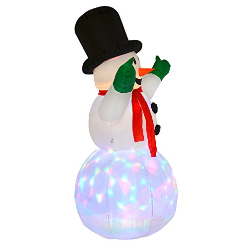 6ft tall inflatable snowman christmas outdoor decoration garden 6ft tall inflatable snowman christmas outdoor decoration garden party light up amazon garden outdoors mozeypictures Choice Image