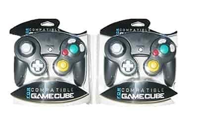 OEM Nintendo Gamecube Compatible Controller Pack 2 Black