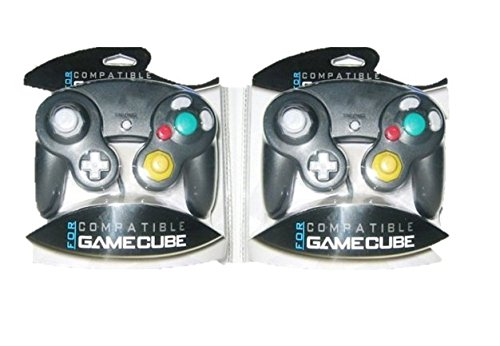 Two GameCube / Wii Compatible Controllers