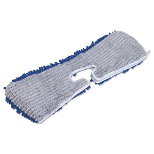 Quickie 720784M6 Flip & Shine Microfiber Floor Mop Refill, 18