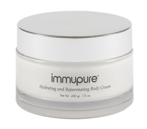 Immupure Hydrating and Rejuvenating Body Cream - With Colostrum. For Arms, Legs & Body Every Day. 7 Oz.