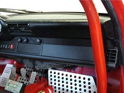 (Rennline Black Lower Dash Delete Cover Fits 90-98 Porsche 964/993)