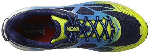 Hoka One Challenger Atr 3, Zapatillas de Running para Asfalto para Hombre Amarillo (Citrus/dresden Blue)