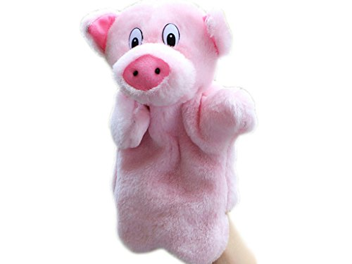 RIY Hand Puppet - Zoo Friends Animals Educational Puppets, P