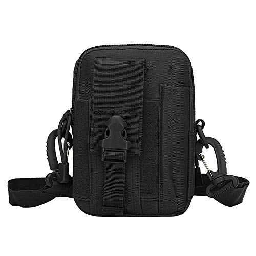 Utility Pack Waist Pouch (VONOTO Tactical Molle Pouch Compact EDC Purse Utility Gadget Waist Bag Pack CCW Fanny Pack with Cell Phone Holster)