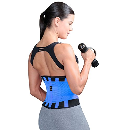 0a8ecbce38 Tecnomed Best Adjustable Waist Cincher Workout Belt Burns Fat Faster ...