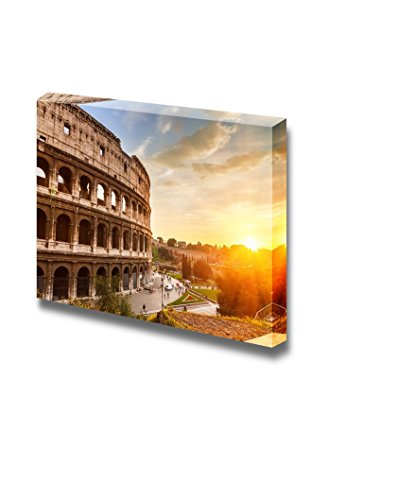 Coliseum at sunset Time Home Deoration Wall Decor ing ped