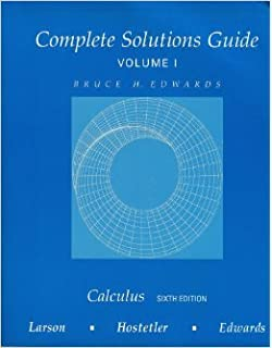 Calculus Alternate 6th Edition Larson Hostetler Edwards Pdf Sevenvivid