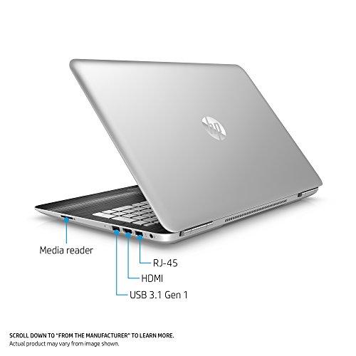 HP Pavilion 15-inch Laptop, Intel Core i5-7300HQ, NVIDIA GeForce GTX 1050, 12GB RAM, 1TB hard drive, Windows 10 (15-bc220nr, Silver) by HP (Image #3)