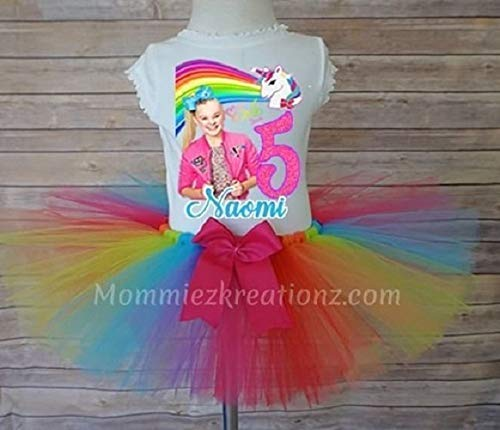Amazon Jojo Siwa Tutu Set Birthday Outfit Handmade