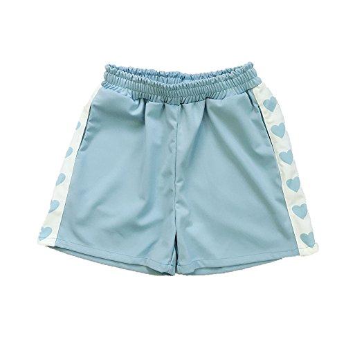 Packitcute Blau Pantaloncini Pantaloncini Donna Donna Packitcute Donna Pantaloncini Packitcute Blau Blau HWrwOHxvqU
