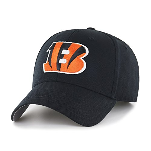 NFL Cincinnati Bengals Men's OTS All-Star Adjustable Hat, Team Color, One - Gear Nfl
