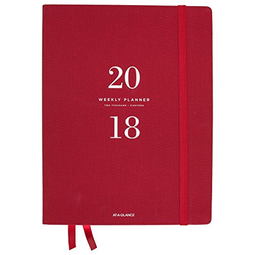 11 Collection (AT-A-GLANCE Weekly / Monthly Planner, January 2018 - January 2019, 8-1/2
