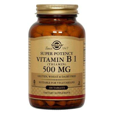 La vitamine B-1 500 mg - 100 -