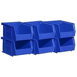 Akro-Mils 08212Blue 30210 Plastic Storag...
