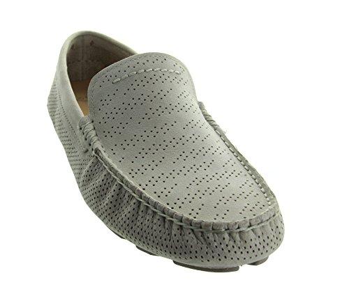 UGG Men's Henrick Stripe Perf Boat Shoe, Ceramic, 9 US/9 M US