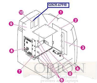 Amazon Com Hp Q2635 67910 Hp Compact Flash Firmware